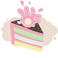 Торт с вазой