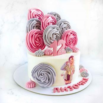 Торт для девочки подростка с цифрой