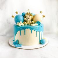торт со львом мальчику