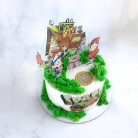 торт с поросенком пухли