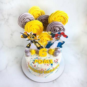 торт мальчику на 6 лет