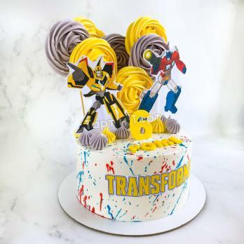торт с трансформерами спб