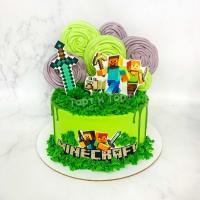 Торт на заказ Майнкрафт