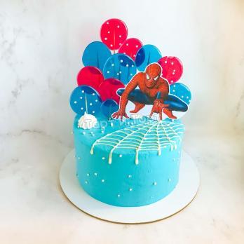 Торт на заказ с человеком Пауком