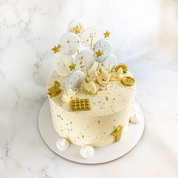 Торт с фигуркой для девочки