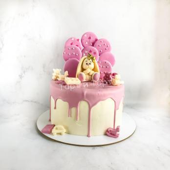 Торт девочке с зайкой
