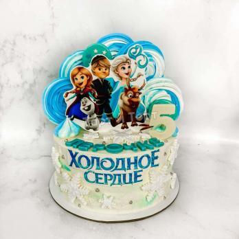 Торт №30 - Холодное сердце все герои