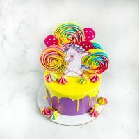 торт девочке на день рождения