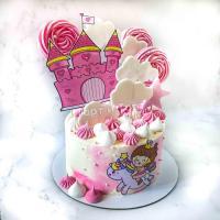 Торт №34 - Принцесса и замок
