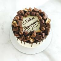 торт с шоколадками мужчине
