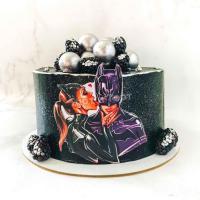 торт с бэтменом