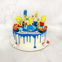 симпсоны торт на заказ спб