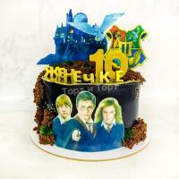 торт из Гарри Поттера на день рождения