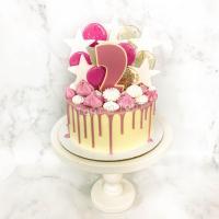 Торт №194 -  Со звёздами и леденцами