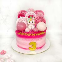 торт девочке на 7 лет