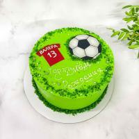 Торт №206 -  Для юного футболиста