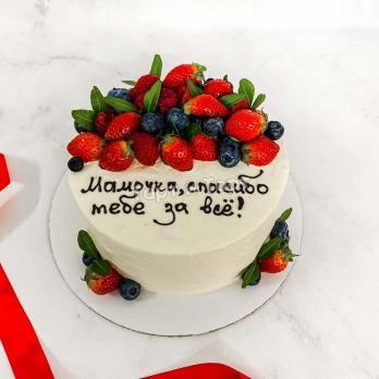 торт маме на день рождения