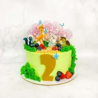 торт с бемби на 2 года