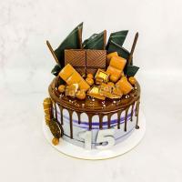 торт мальчику на 15 лет