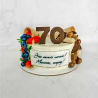 Торт №309 - Два рожка с цифрой