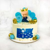 Торт №310 - Босс-молокосос с цифрой