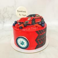 торт мальчику с машинкой