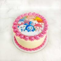 торт малышарики спб
