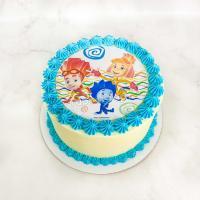 торт девочке на 6 лет