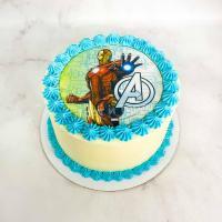 торт с железным человеком спб