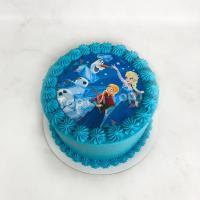 торт холодное сердце 2