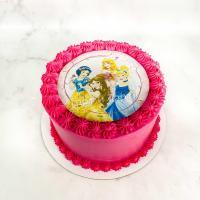 торт девочке фотопечать