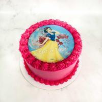 торт с принцессой на день рождения
