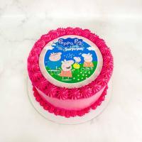 Торт 397 - Семья свинки Пеппы