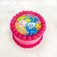 Торт 399 - Смешарики Крош и Нюша