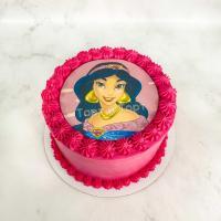 торт с принцессами