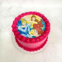 торт с принцессами дисней