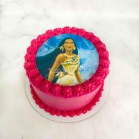 Торт 409 - Принцесса Диснея