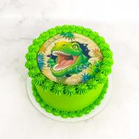 торт мальчику с динозаврами