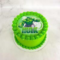 торт с халком мальчику на день рождения