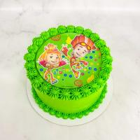 торт на 4 года мальчику фиксики