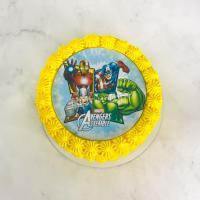 Торт №439 - Марвел герои