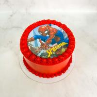 торт мальчику с человеком пауком