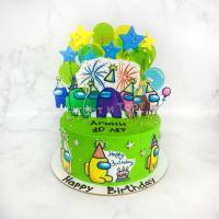 торт амонг ас на 10 лет