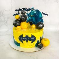 Торт №484 - Бэтмен с панорамой города