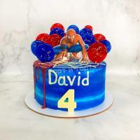 Торт №498 - Человек Паук