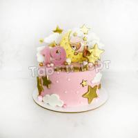 Торт №505 - Мишка на месяце