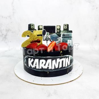 Торт №309 - Корпоративный на день рождения компании