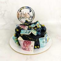 торт мужчине с деньгами
