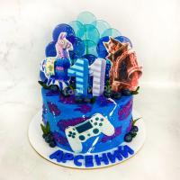 торт фортнайт мальчику на день рождения