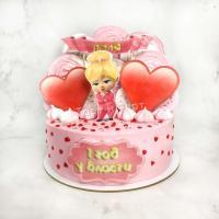 торт девочке на день рождения с боссом